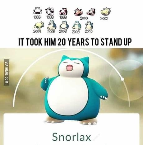 Считаешь себя ленивым? Покемоны, Pokemon GO, Snorlax, 9GAG
