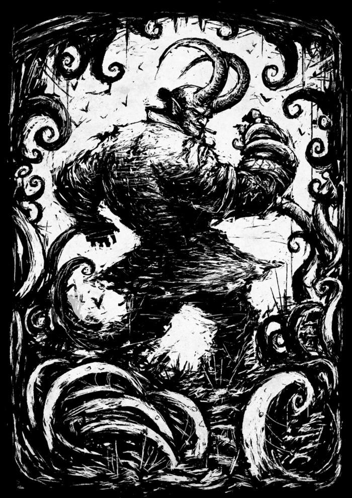 Hellboy Хеллбой, Dark Horse Comics, Длиннопост, Рисунок, Цифровой рисунок, Супергерои