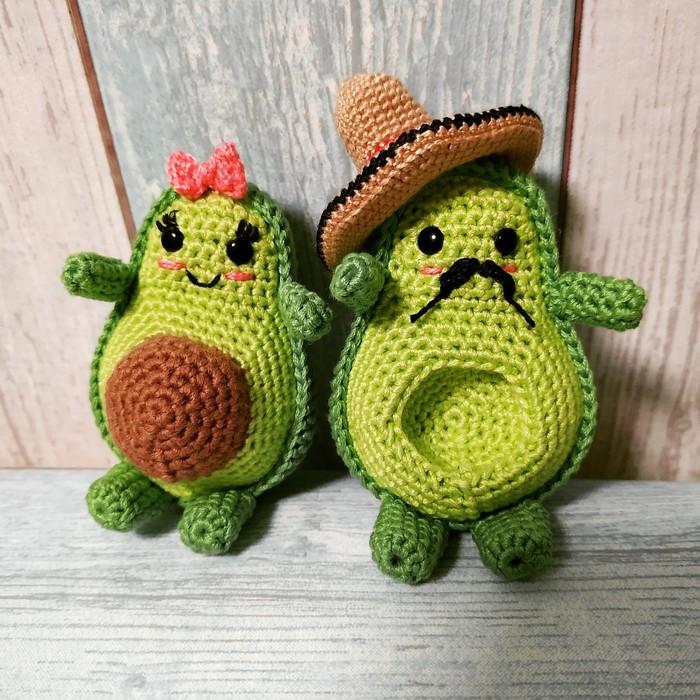 Любите ли вы авокадо так, как люблю его я?) Вязание крючком, Авокадо, Рукоделие без процесса, Амигуруми