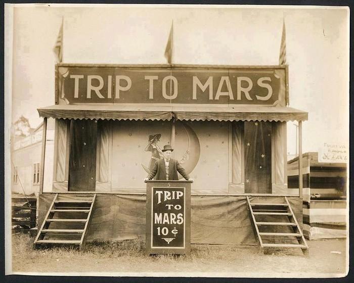 Полёт на Марс». Стоимость - 10 центов. США, 1920-е. Илон Маск: начало.