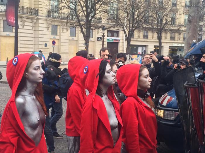 Истинный протест во Франции Франция, Протестующие, Красота, Сила, Политика