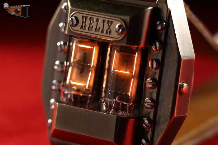 """Наручные часы на накальных индикаторах """"Helix"""" Наручные часы, Стимпанк, Самоделки, Видео, Длиннопост"""