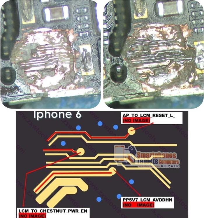 IPhone 6 нет изображения после замены дисплея. Короткий пост и solution (решение). Ну и как не надо.... Киев, Пайка, Iphone 6, Iphone, Длиннопост