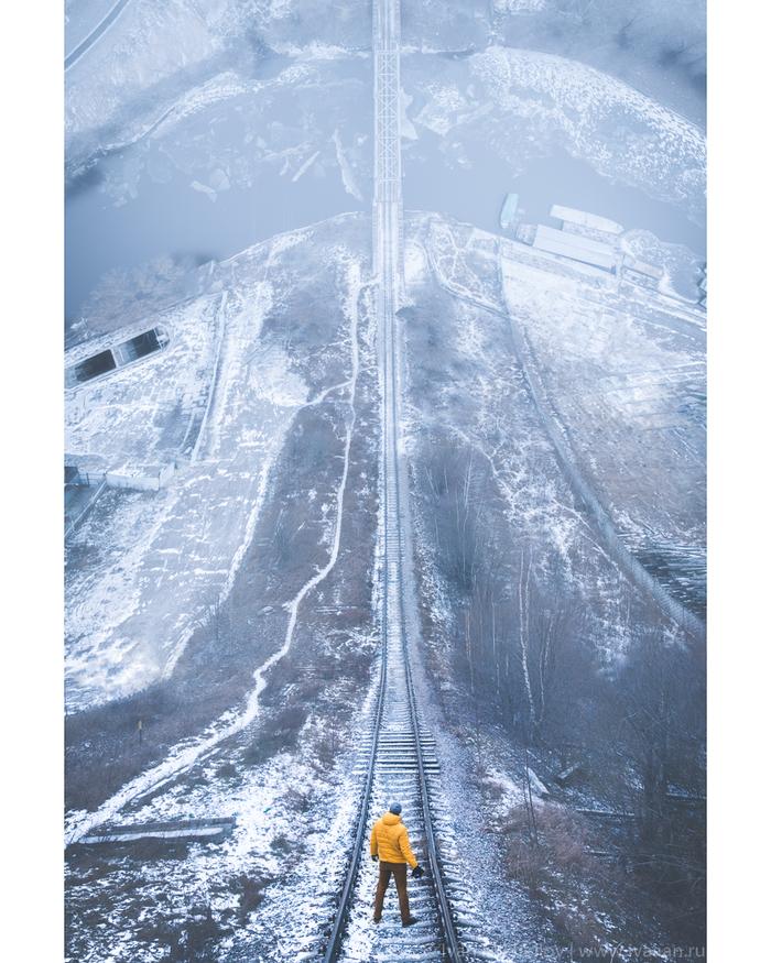 Горка Аэрофотосъемка, Фотошоп мастер, Droneception, Dji Mavic Air