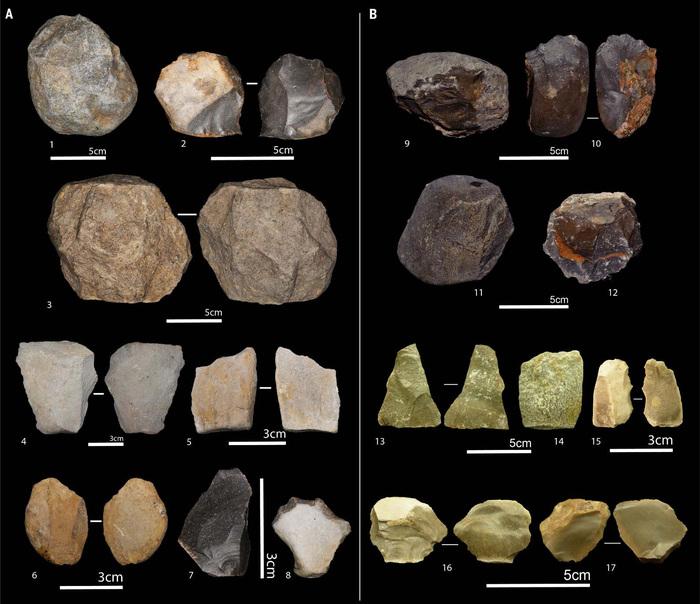 Каменные орудия в Северной и Восточной Африке появились почти одновременно Наука, Антропология, Археология, Копипаста, Elementy ru, Каменные орудия, Длиннопост