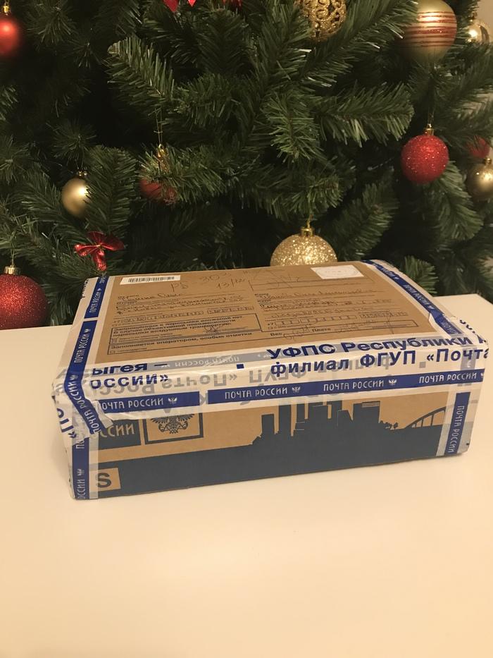 Проект Тайный Дед Мороз 2018-2019 или как моя снегурка сделала мой день! Тайный Санта, Снегурочка, Обмен подарками, Подарок, Адыгея, Санкт-Петербург, Длиннопост