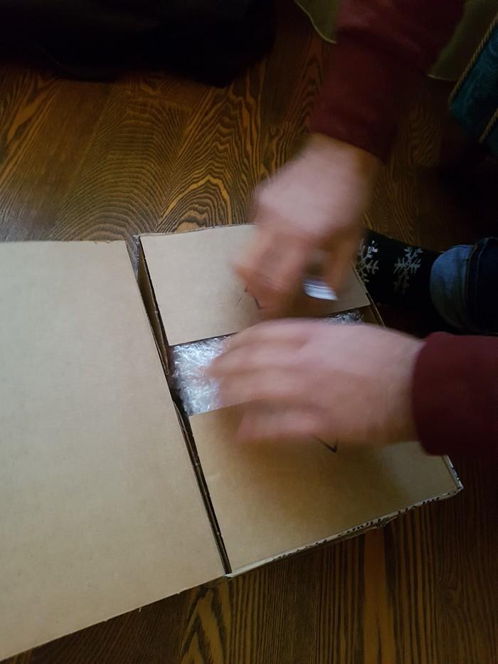 Подарок для мужа из Кстово Отчет по обмену подарками, Тайный Санта, Волшебство, Новый Год, Длиннопост