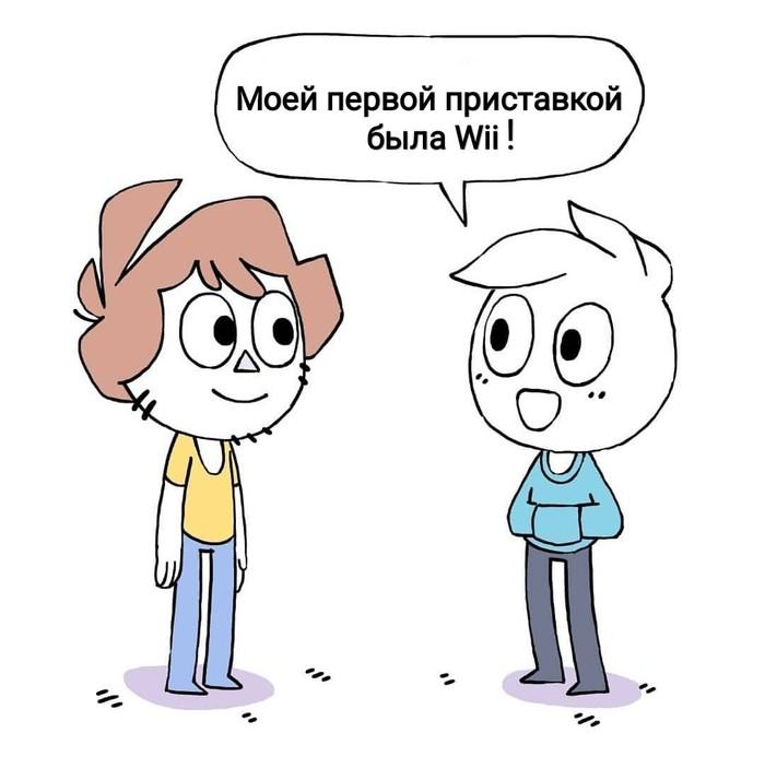 Старость Shencomix, Комиксы, Игровая приставка, Wii, Длиннопост, Owlturd