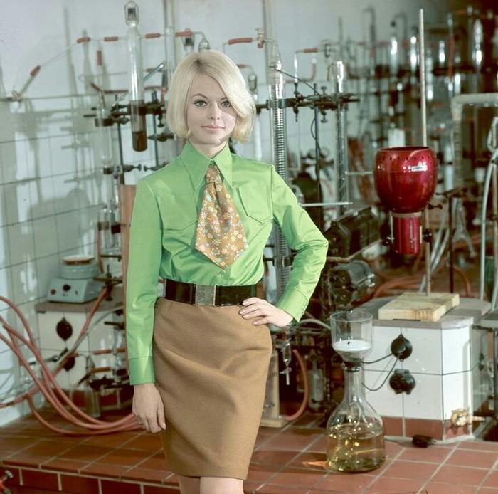 Женская мода ГДР в 1970-х