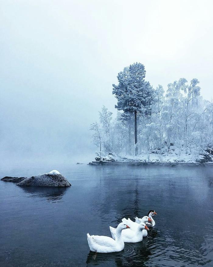 Зимняя Хакасия