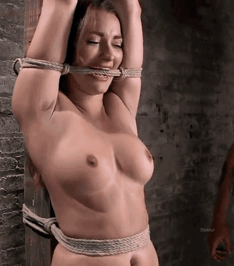 Тематическое: грудь Эро Уголка, Клубничка, BDSM, Садизм, Грудь, Зажимы, Девушки, Гифка, Длиннопост
