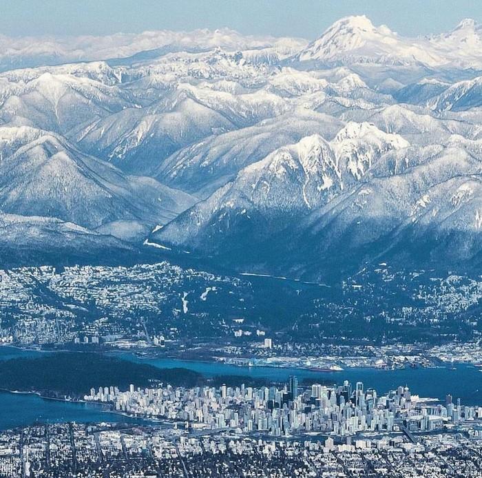 Зимний Ванкувер, Канада