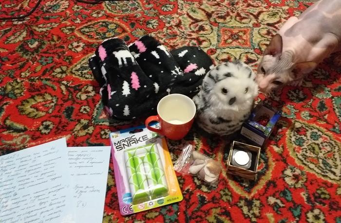 Обмен подарками. Находка-Песчанокопское Тайный Санта, Обмен подарками, Отчет, Отчет по обмену подарками, Длиннопост
