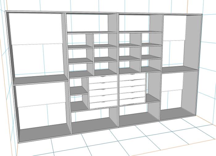 Встроенный шкаф купе своими руками, часть 1 (сам шкаф, без дверей) Шкаф, Своими руками, Мебель из лдсп, Мебель своими руками, Длиннопост