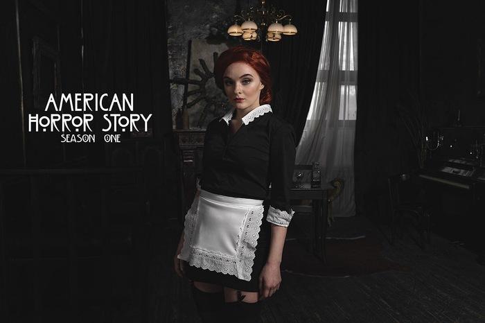 Moira O'Hara by Sophie Letyago Косплей, Американская история ужасов, Горничная, Мойра, Sophie Letyago, Длиннопост