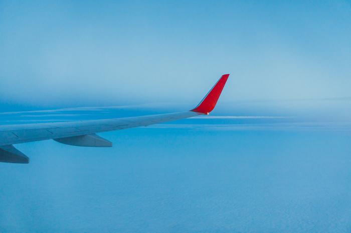 Кусочки неба Облака, Самолет, Фотография, Небо, Полеь, Длиннопост