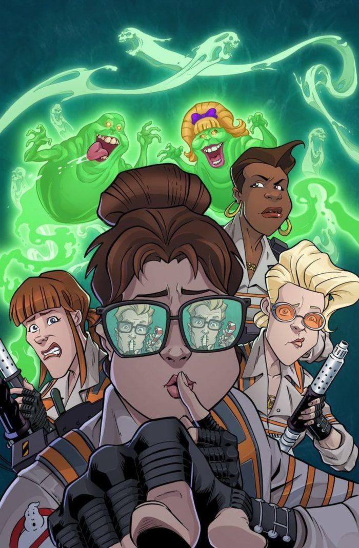 К 35-летию Охотников за привидениями Длиннопост, IDW, Охотники за привидениями, Real Ghostbusters, Extreme Ghostbusters, Ghostbusters: ECTO Force