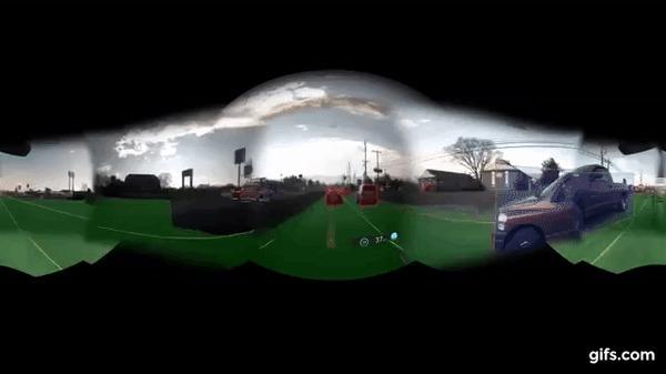 Дорога глазами автопилота Автопилот, Tesla, Дорога, Видеокамера, Искусственный интеллект, Гифка, Видео