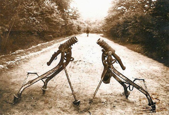 Мортира Гуидетти Первая мировая война, История, Оружие, Длиннопост