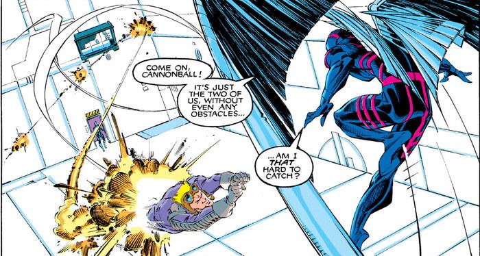 Супергеройские способности: Архангел Супергерои, Суперзлодеи, Marvel, Люди Икс, Ангел, Комиксы-Канон, Длиннопост
