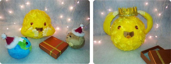 Плюшевое Солнце Солнце, Мягкая игрушка, Рукоделие, Ручная работа, Плутон, Земля, Планета, Рукоделие без процесса