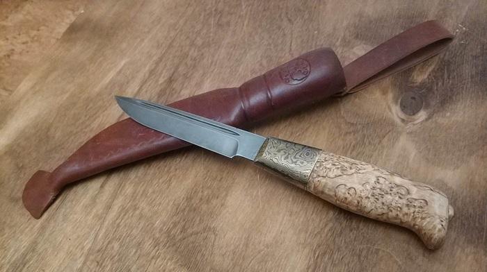 Не совсем традиционная финка Нож, Финка