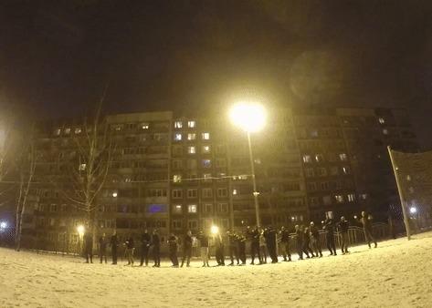 Headshot Снежки, Попадание, Гифка