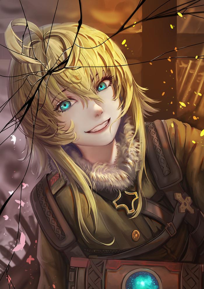 Военная хроника маленькой девочки Аниме, Anime Art