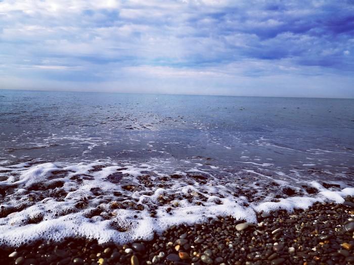 Декабрь, зима, чёрное море. Черное море, Декабрь, Спокойствие, Длиннопост