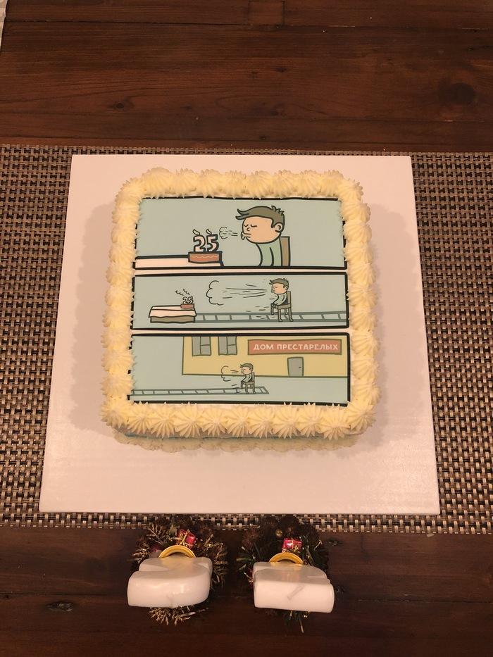 Торт на День рождения Торт, День рождения, Родственники, Чилик