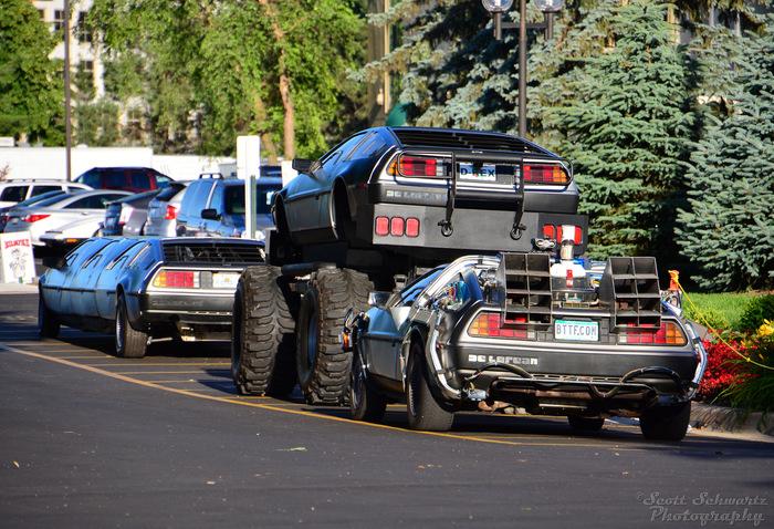 Док, ты что, сделал внедорожник из DeLorean? Delorean, Назад в будущее 2, Лимузин, Длиннопост