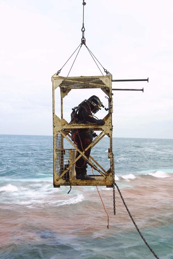 Как морские спасатели резали пароÑод Судно, Длиннопост, Танкер, СуÑогруз