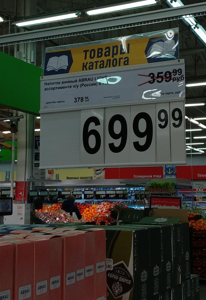В какой строке ошибка? Новогодние скидки Новый год, Магазин, Лента, Цены, Скидки, Наценка
