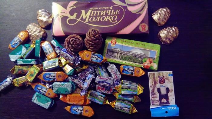 Обмен подарками Новосибирск - Туймазы Обмен подарками, Новый Год, Дед Мороз, Сладости, Тайный Санта, Отчет по обмену подарками