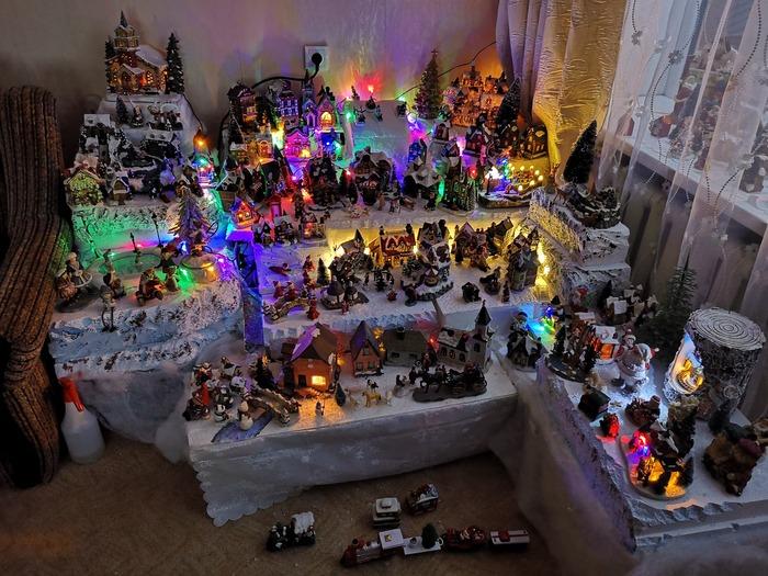 Новогоднее настроение в отдельно взятой квартире. Новый Год, Фотография, Длиннопост