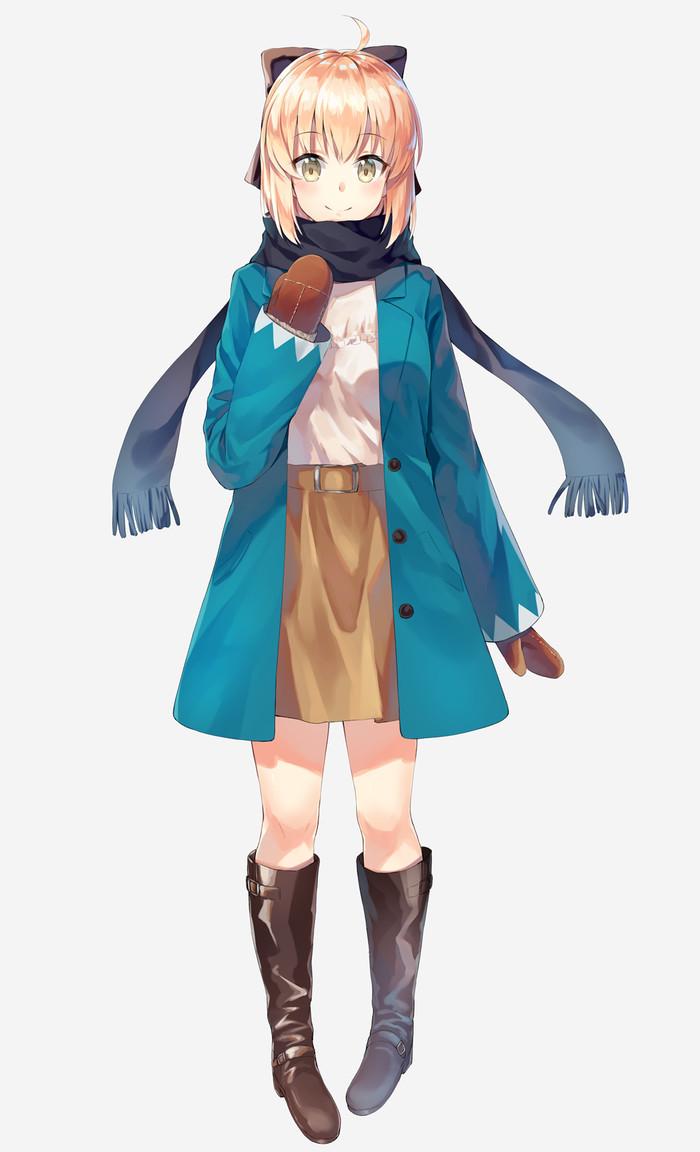 Souji Okita (Fate) Souji okita, Fate Grand Order, Anime Art, Длиннопост