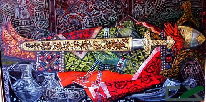Меч-кладенец: оружие из древних могил История, Меч, Холодное оружие, Кладенец, Меч-Кладенец, Фольклор, Русь, Длиннопост