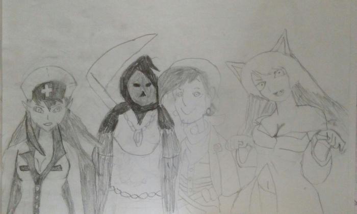 Зарисовки к старой партии Фэнтези, Gurps, Ролевые игры, Партия, Творчество, Зарисовка