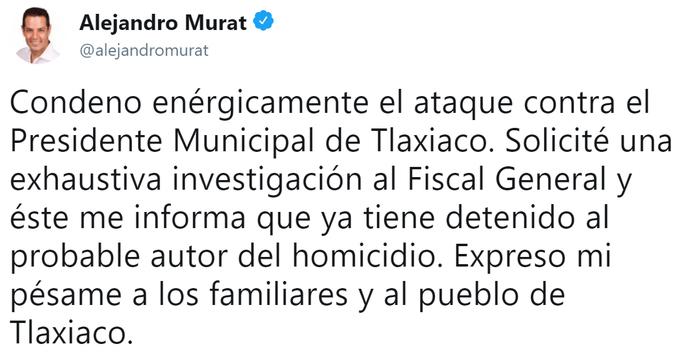 В Мексике убили мэра спустя полтора часа после его вступления в должность Общество, Политика, Мексика, Негатив, Убийство, Мэр, Tvzvezdaru, Twitter