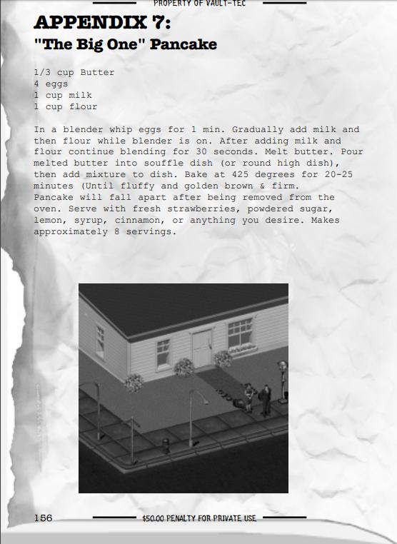 Странная находка в официальном цифровом руководстве Fallout 2, возможно связанная с Sims. Fallout, Fallout 2, The sims, Компьютерные игры, Игры, Находка
