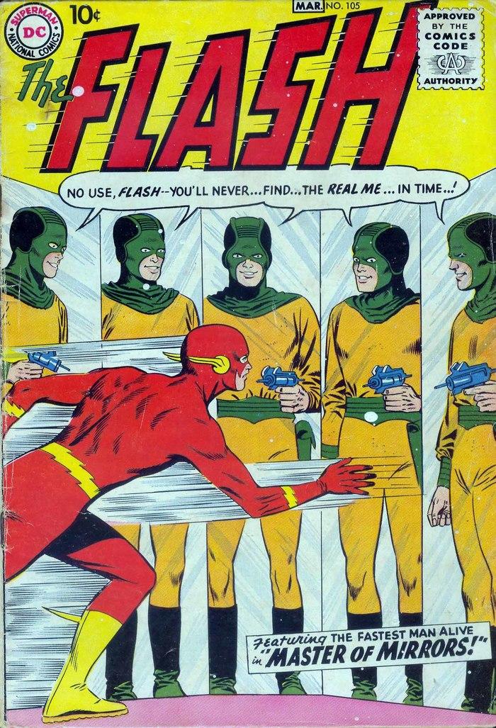 Погружаемся в комиксы: Flash #105-114 Супергерои, DC Comics, The Flash, Барри Аллен, Комиксы-Канон, Длиннопост