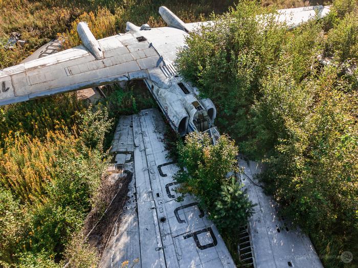 Заброшенный М-17 «Стратосфера» Заброшенное, Монино, м-17, Самолет, Длиннопост