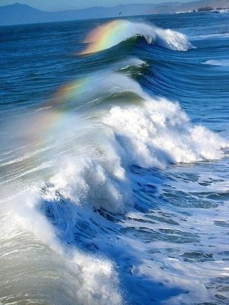 Радуга на волнах