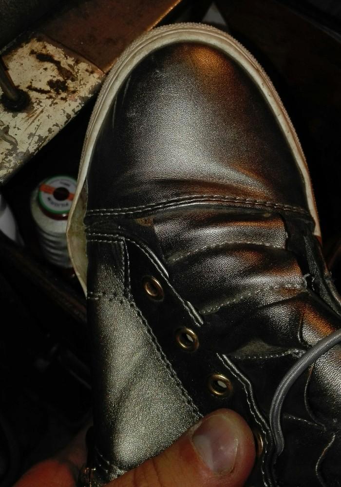 А если завтра в поход.Ремонт кроссовок и полуботинок. Ремонт обуви, Шьем сами, Кроссовки, Было-Стало, Задник, Длиннопост