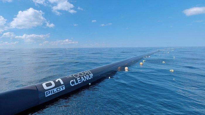 Система по очистке Тихого океана от мусора накрылась, её уведут на ремонт Наука, Техника, Мусор, Очистка, Океан, Новости, Интересное, Поломка