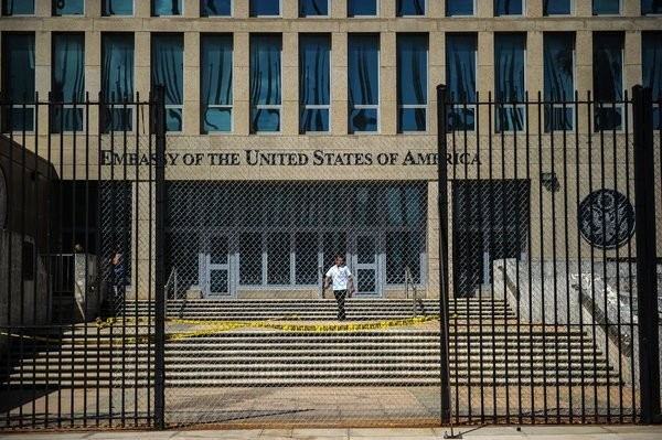 """Американских дипломатов на Кубе в 2016 """"атаковали""""... сверчки, американские ученые США, Куба, Дипломатия, Дипломаты, Политика, Посольство, Ученые, Сверчки"""