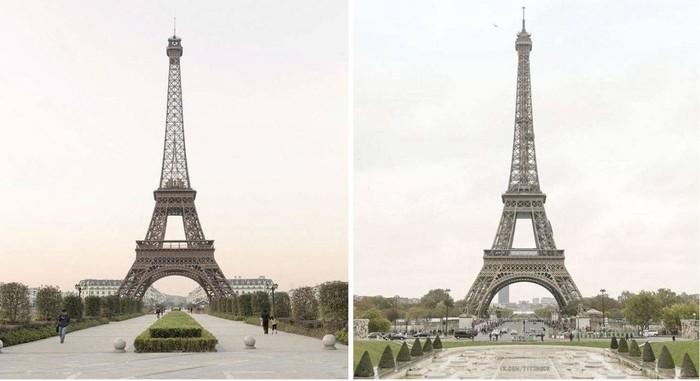 Эйфелева башня в Китае Эйфелева башня, Палатка, Копия, Ночь, Путешествия, Китай, Автостоп, Длиннопост