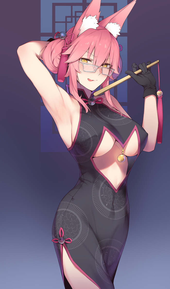 Anime art Anime Art, Ушастая, Tamamo, Fate grand Order