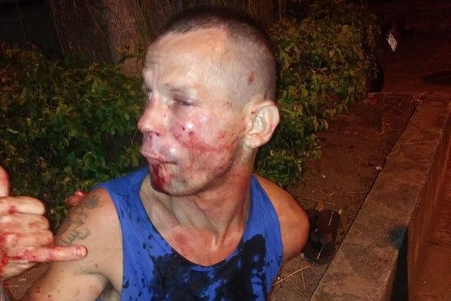 Неудачное ограбление. Грабители, UFC, Длиннопост, Кровь, Жесть
