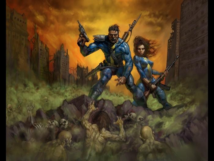 Серия Fallout: Эволюция комбинезонов Убежища (Часть 1) Fallout, Fallout 2, Fallout Tactics, Комбинезон, Эволюция игр, Убежище, Длиннопост